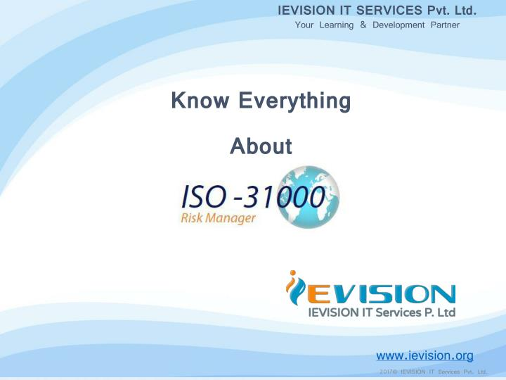 ievision it services pvt ltd your learning n.