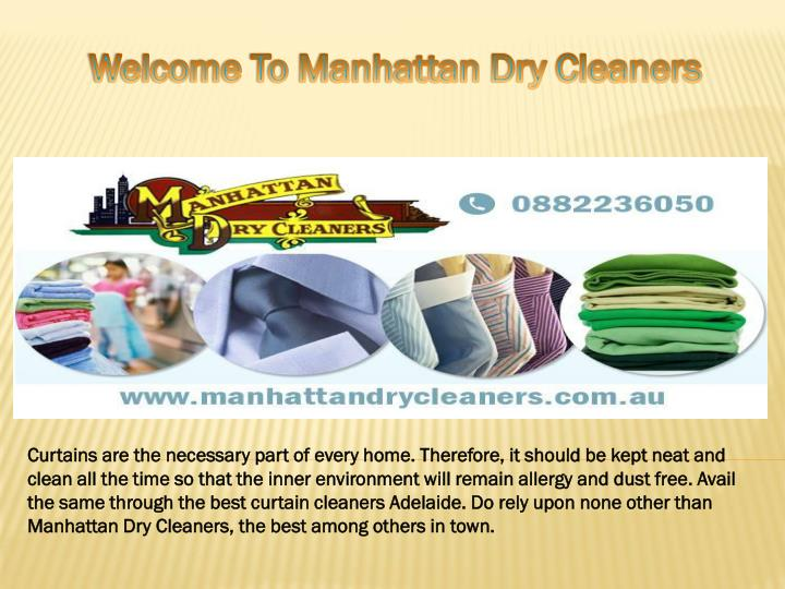 welcome to manhattan dry cleaners n.