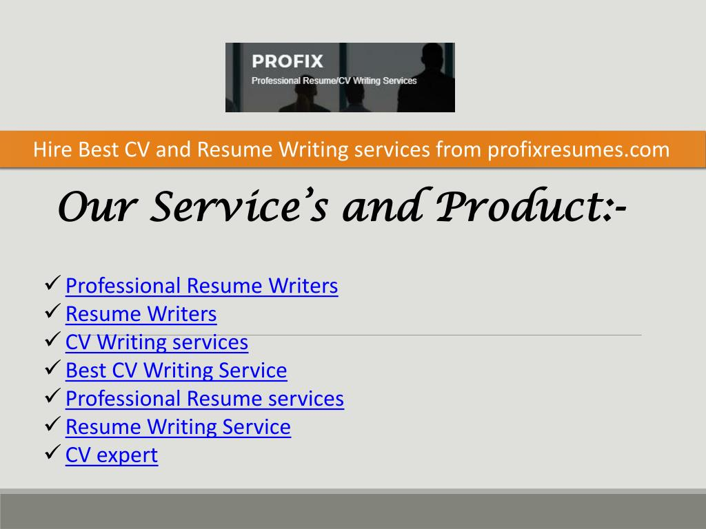 best resume editing for hire