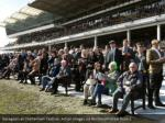racegoers at cheltenham festival action images