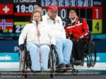 sissel loechen of norway delivers a stone during