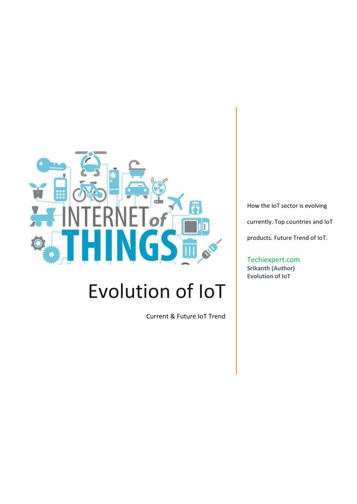PPT - Impact of internet of things / The rise of IOT Industry