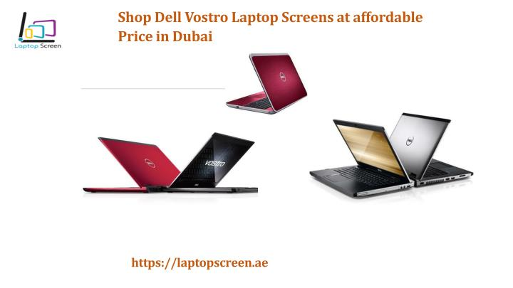 PPT - Shop Dell Vostro Laptop Screens at affordable Price in