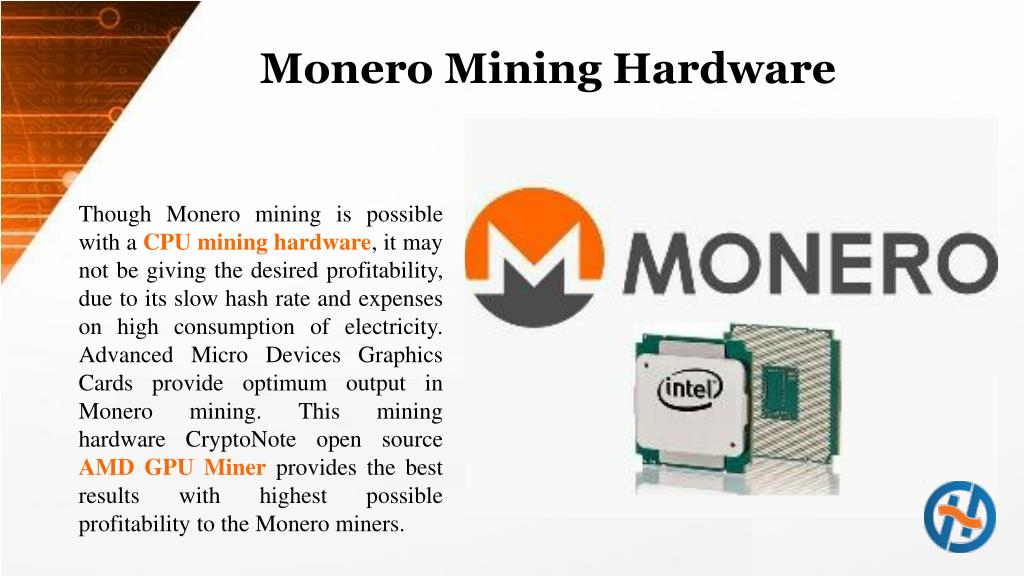 PPT - Monero Mining Best To Use An AMD GPU Miner PowerPoint