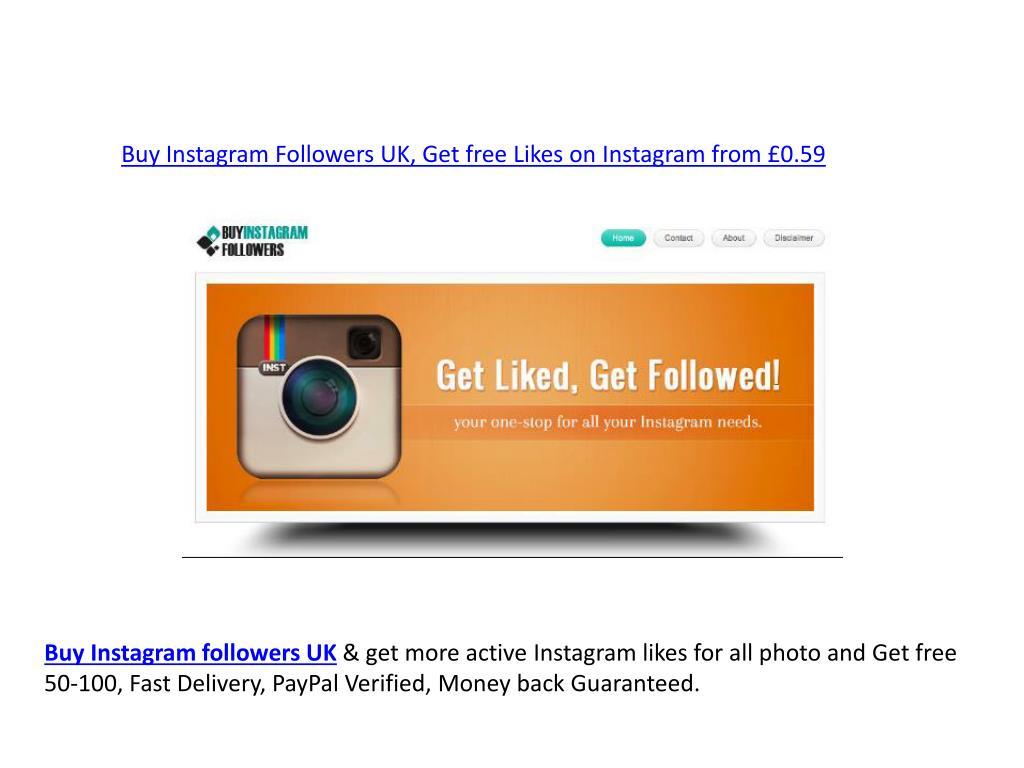 PPT - Buy Instagram Followers UK 2019 (http://epicfollowers