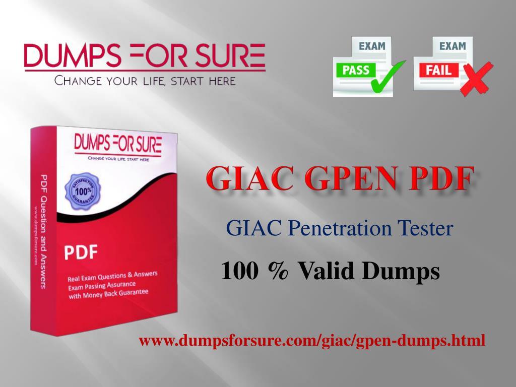 Ppt Cfe Braindumps Download Latest Giac Gpen Sample Questions