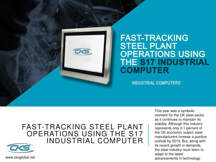 PPT - Fast-Tracking Steel Plant Operations Using the S17