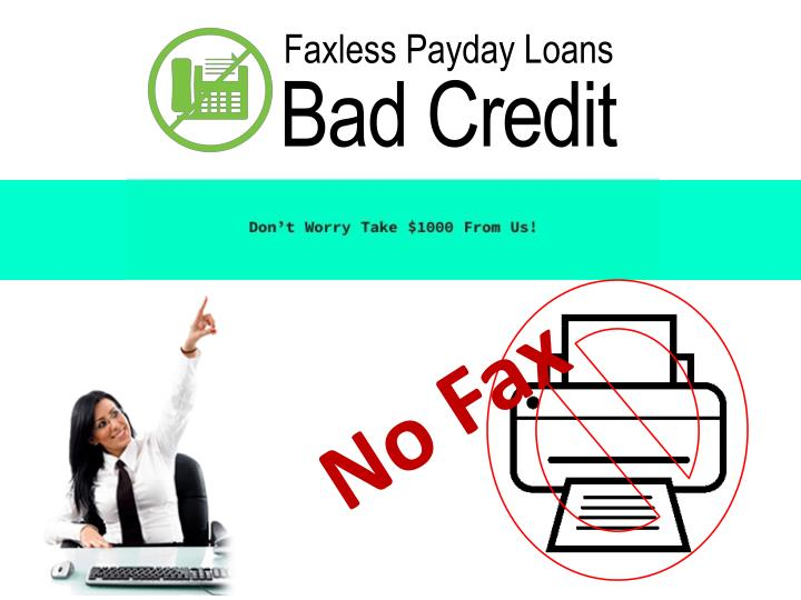 faxless payday loans n.
