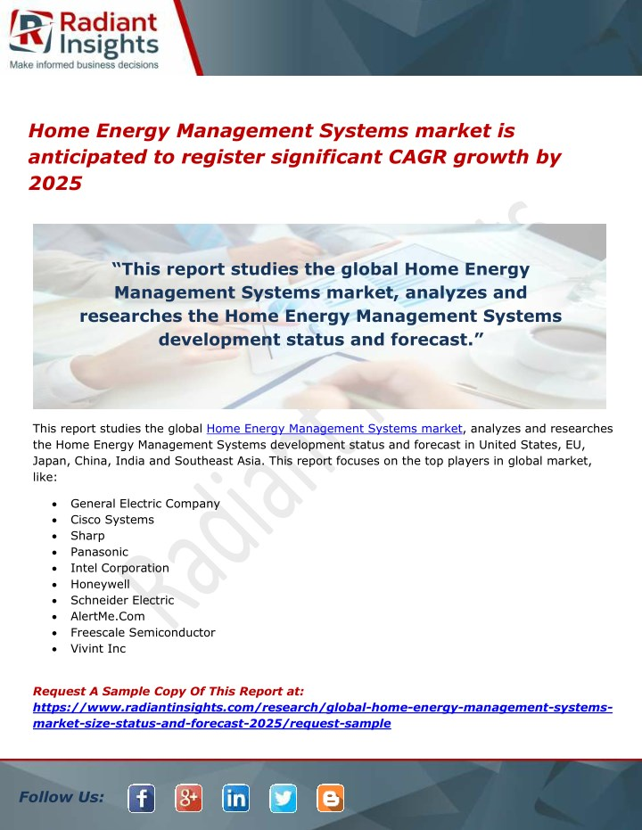 home energy management systems market n.