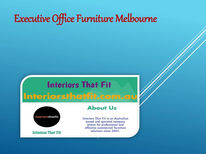 executive office furniture melbourne n.