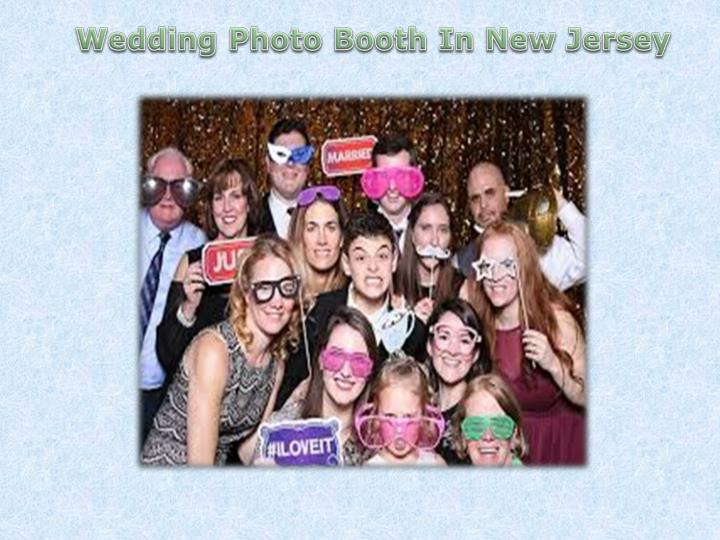 wedding photo booth in new jersey n.