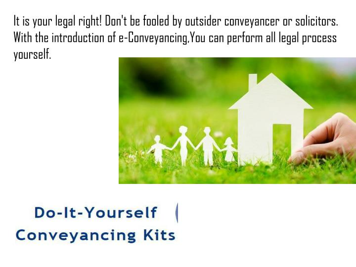 Ppt new electronic perth conveyancing kit available online dont be fooled by outsider conveyancer solutioingenieria Image collections