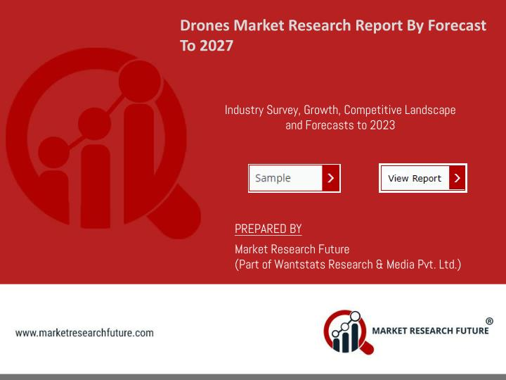 drones market research report by forecast to 2027 n.
