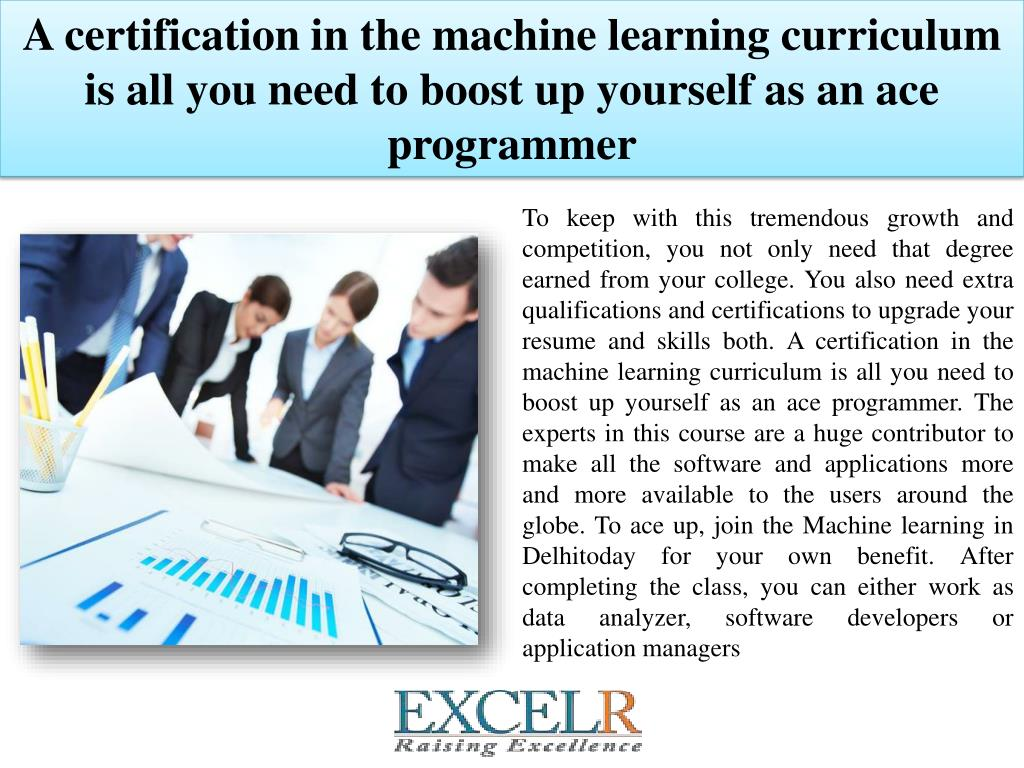 PPT - Start Career with Machine Learning Training in Delhi
