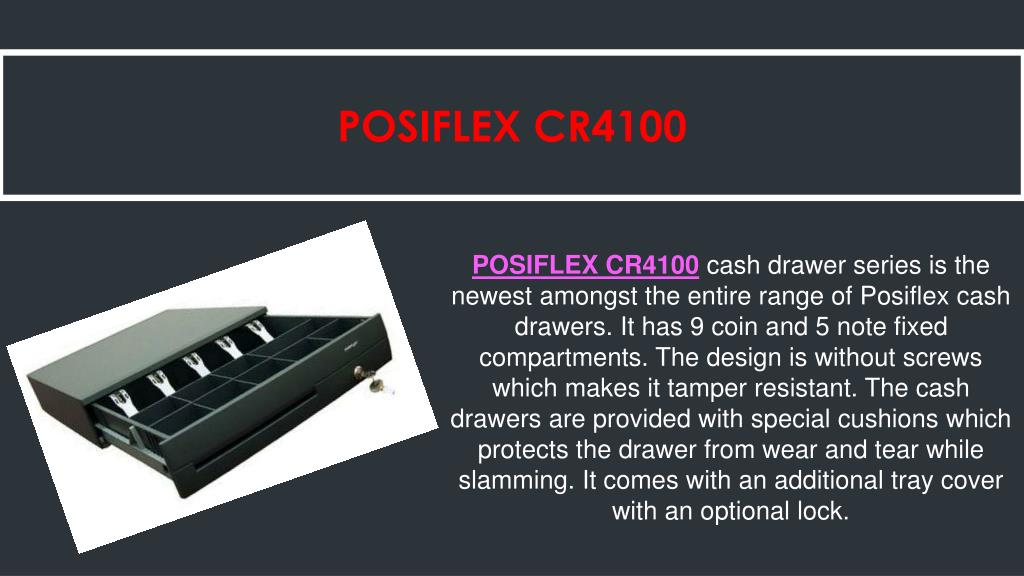 PPT - Automated Cash Drawers at POS PowerPoint Presentation