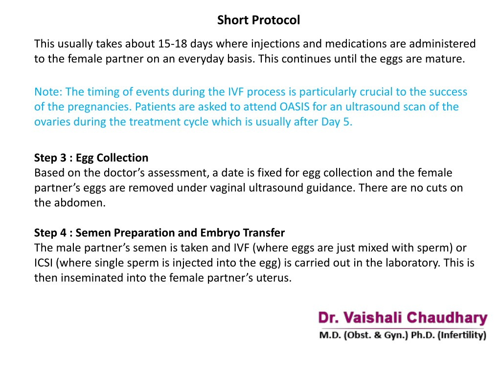 PPT - IVF Specialist In Pune   Dr  Vaishali Chaudhary