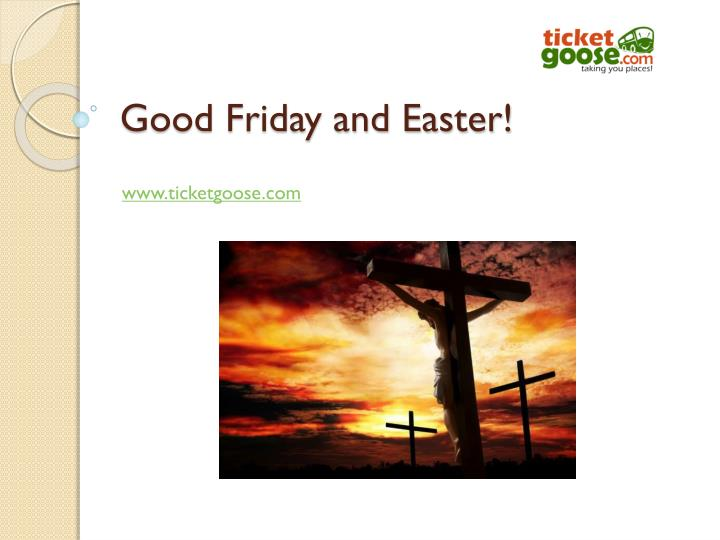 good friday and easter n.
