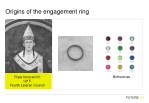 origins of the engagement ring