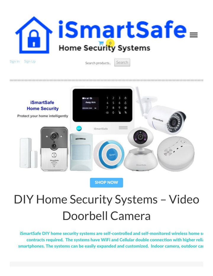 Ppt Ismart Home Security Camera Point Presentation