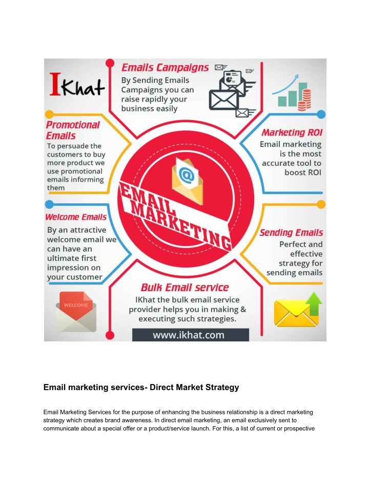 PPT - Direct Marketing Strategy | Bulk Email Solutions Provider