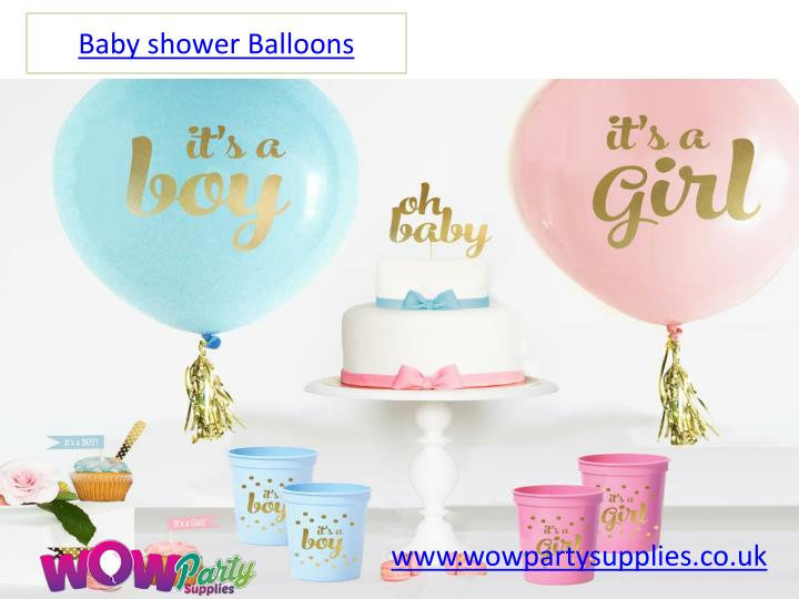 PPT - Baby Shower Balloons   Cheap Baby Shower Decorations ...