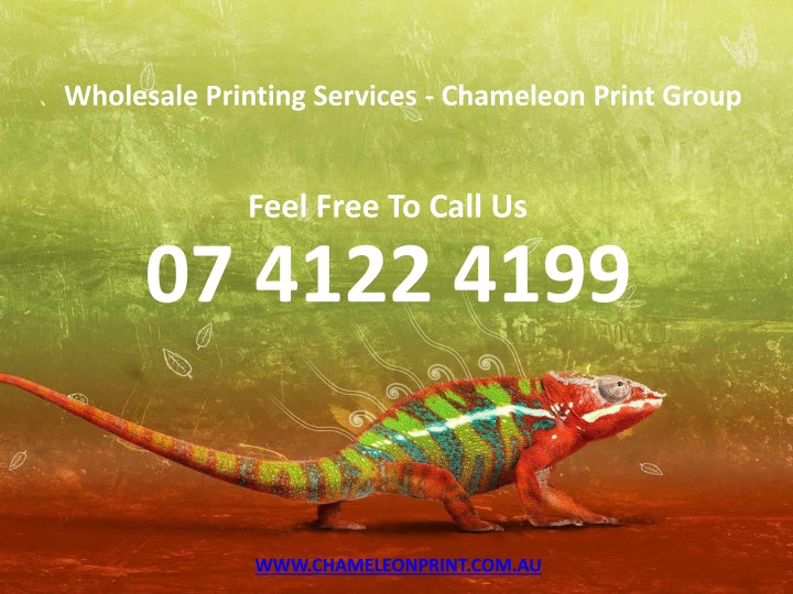wholesale printing services chameleon print group n.