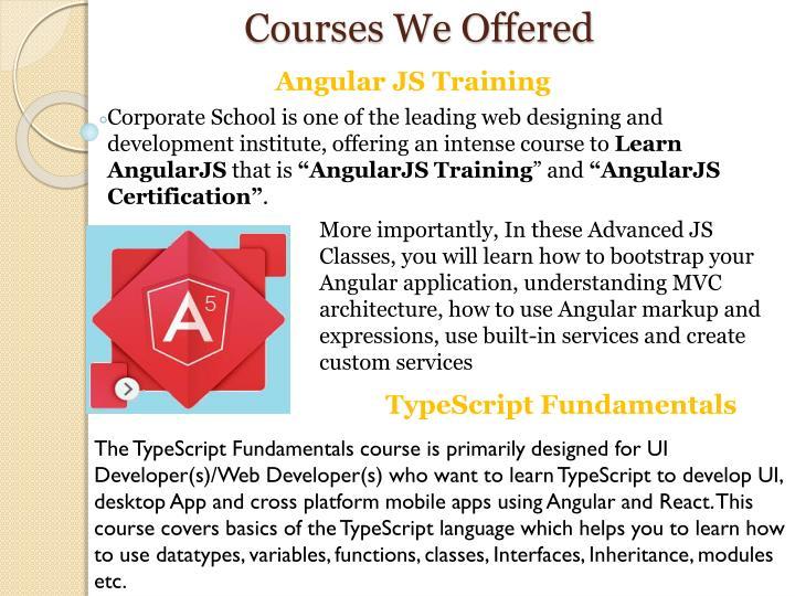 PPT - AngularJS Training Course PowerPoint Presentation - ID:7833594