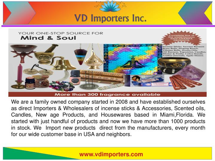 PPT - Metaphysical Products Wholesale | vdimporters com PowerPoint
