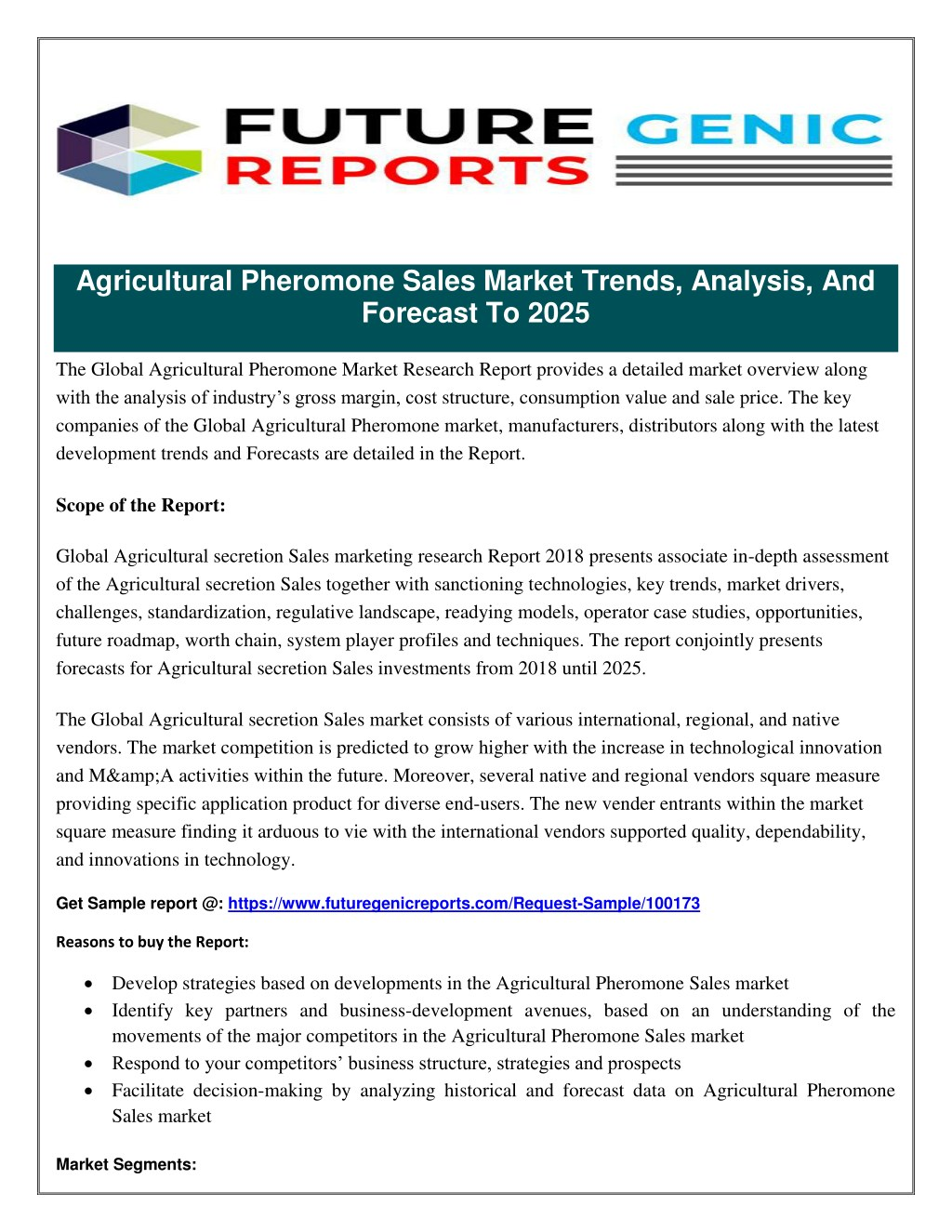 Ppt  Agricultural Pheromone Sales Market Analysis Based On  Agricultural Pheromone Sales Market Analysis Based On Agricultural And  Commercial Applications   Powerpoint Ppt Presentation