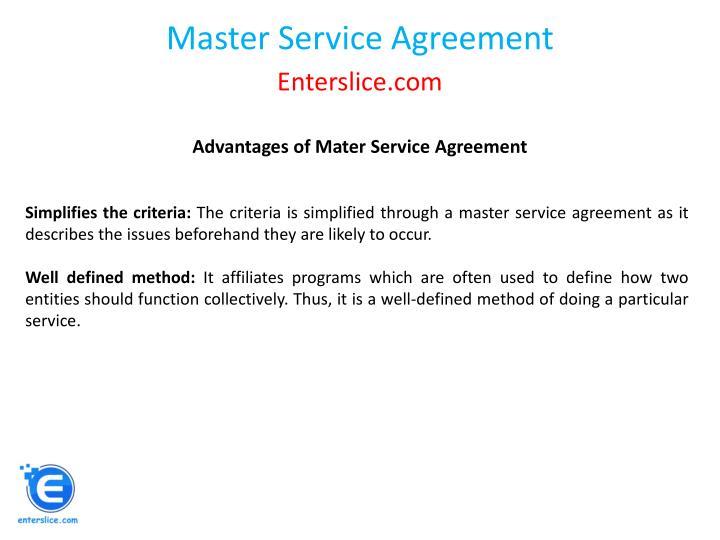 Ppt Master Service Agreement Powerpoint Presentation Id7834388