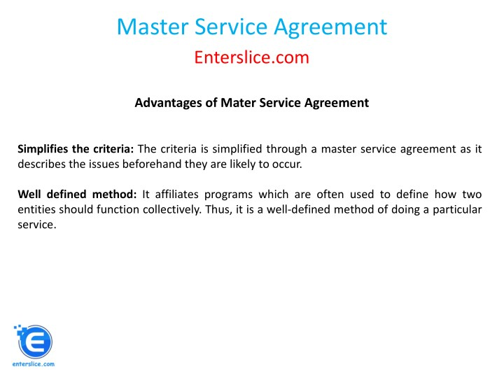 Ppt Master Service Agreement Powerpoint Presentation Id7834414