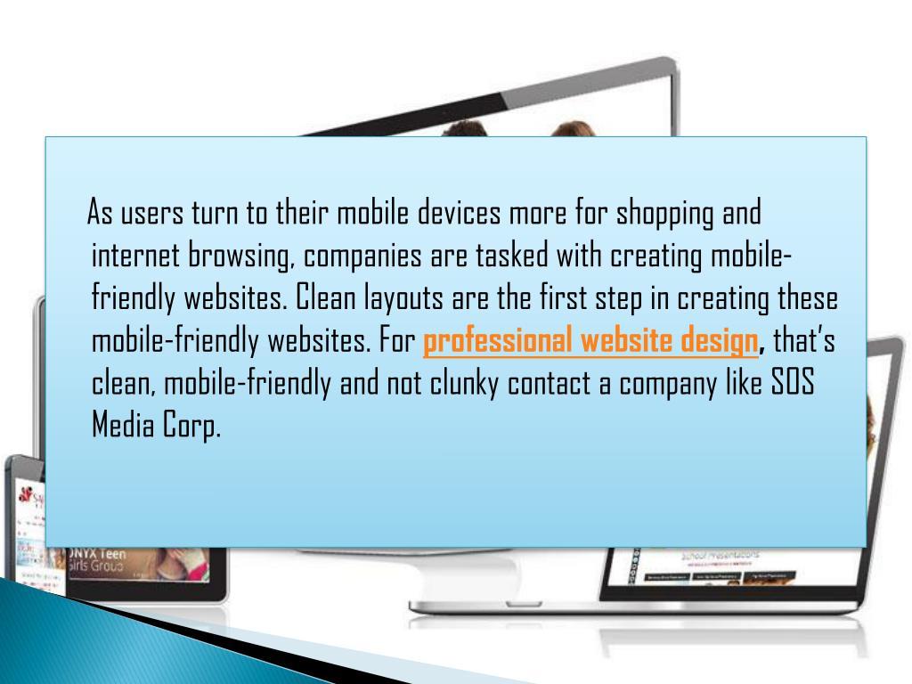 PPT - Trends in Professional Website Design for 2018