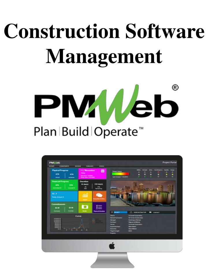 construction software management n.