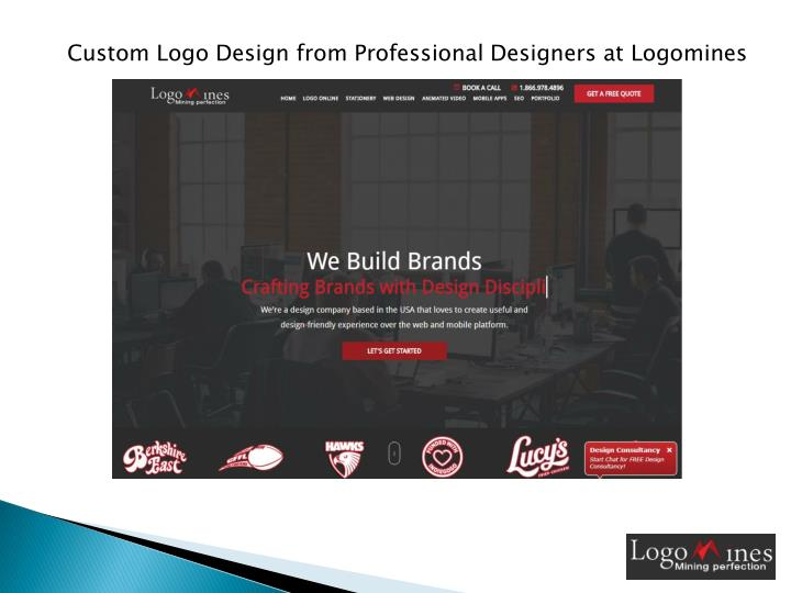 custom logo design from professional designers n.