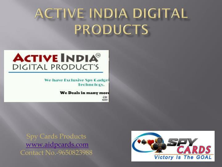 active india digital products n.