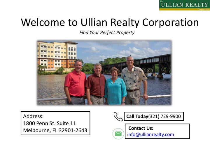 welcome to ullian realty corporation n.