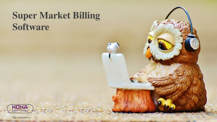 super market billing software n.