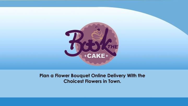 plan a flower bouquet online delivery with n.