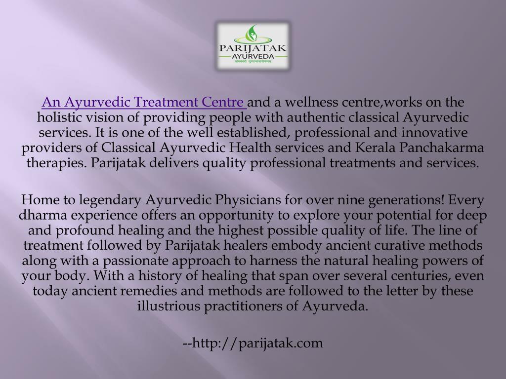 PPT - Kerala Ayurveda India PowerPoint Presentation - ID:7837134