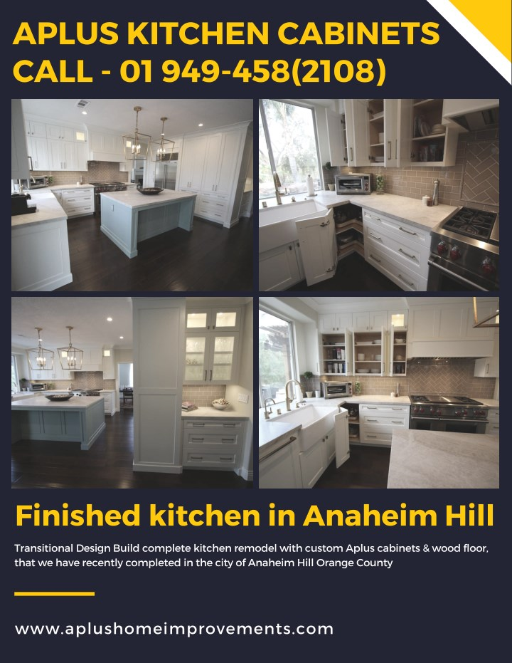 Ppt Aplus Kitchen Cabinets Powerpoint Presentation Free Download Id 7837279