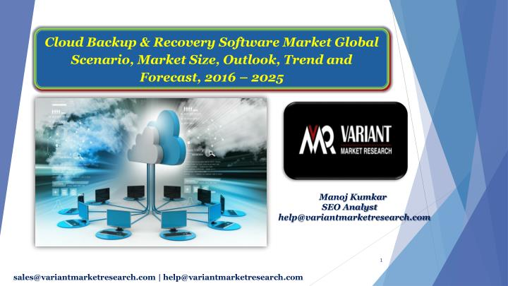 cloud backup recovery software market global n.