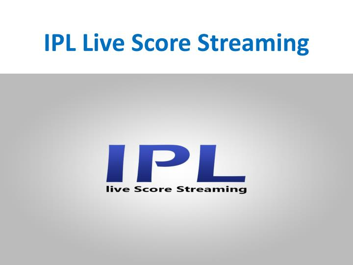 PPT - Watch Sony Max Live IPL 2018 here with Latest Updates