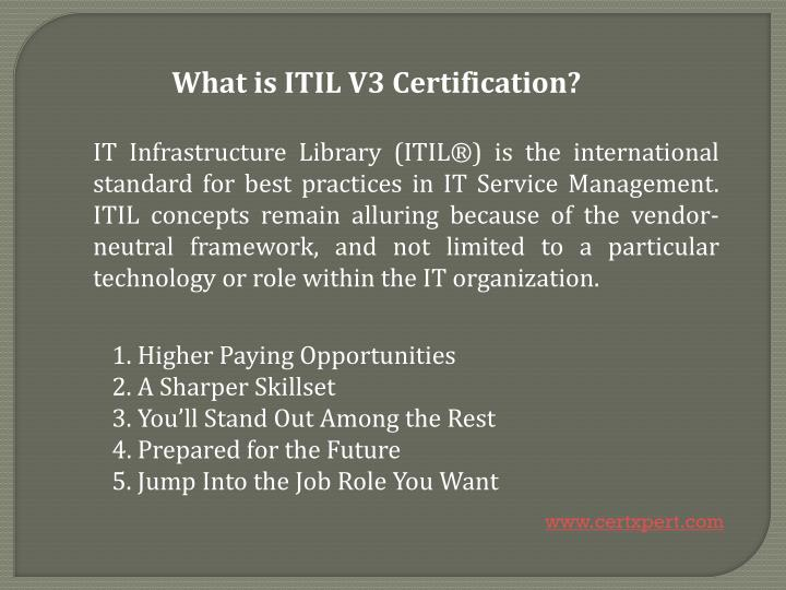 Ppt Itil V3 Certification Without Exam 100 Guarantee Result