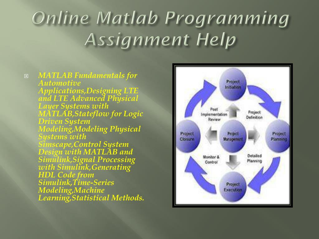 PPT - Matlab Assignment Help And Online Matlab Programming