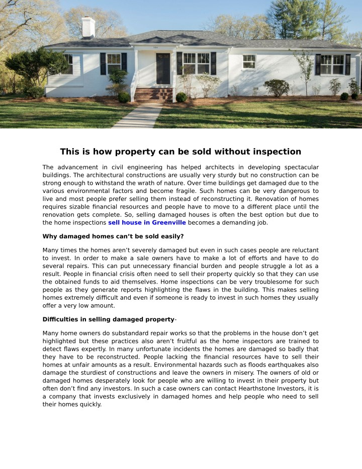 this is how property can be sold without n.