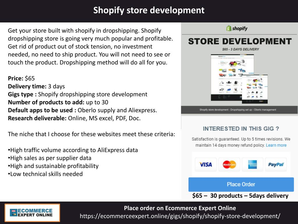 PPT - Ecommerce Expert Online - Browse Amazon, Shopify