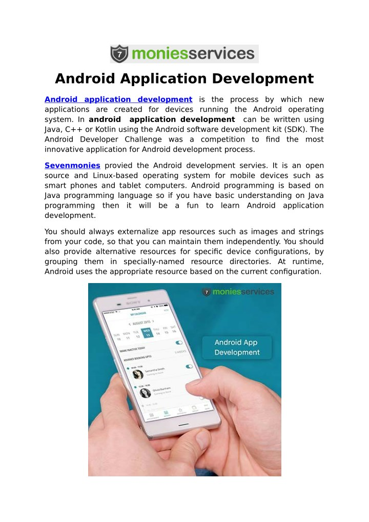 android application development n.