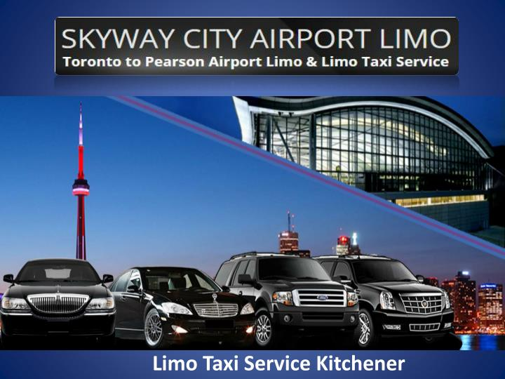 limo taxi service kitchener n.