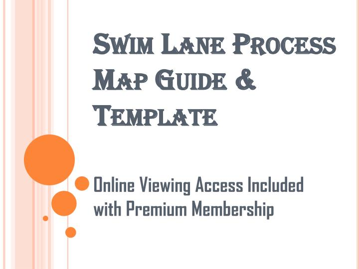 Ppt Expert Toolkit Swim Lane Process Map Guide And