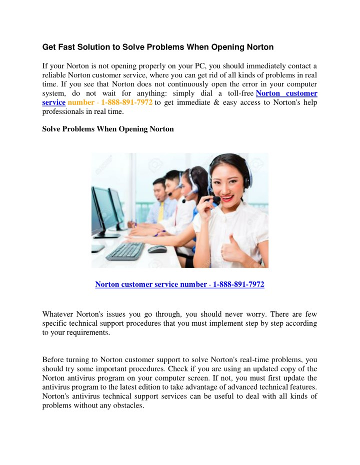 get fast solution to solve problems when opening n.